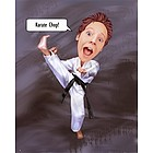 Karate Chop Caricature from Photos