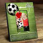 Kid's Personalized Soccer Picture Frame