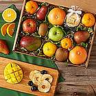 Organic Fresh and Dried Fruit Gift Box