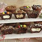 24 Fudge Brownie Puffs Gift Box