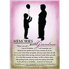 Memories with Grandma Plaque