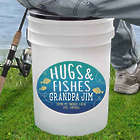 Personalized Hugs & Fishes Bucket Cooler