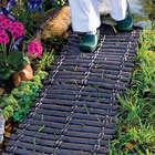 Wood-Look Rubber Outdoor Pathway Mats