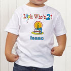 Personalized Toddler Birthday Tee Shirt