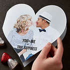 You + Me Personalized Valentine's Day Photo Card