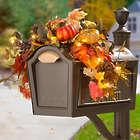 Acadia Autumn Leaves Mailbox Swag Fall Decor
