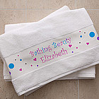Bathing Beauty Personalized Bath Towel