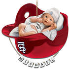 Personalized St. Louis Cardinals Baby's First Christmas Ornament