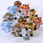 Whimsical Zoo Animal Finger Puppets