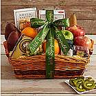 Farmer's Market Gift Basket with Sympathy Ribbon
