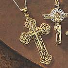 Golden Cross Pendant