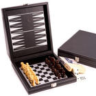 Game Set with Leatherette Case