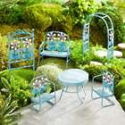 Miniature Fairy Garden Retro Metal Furniture Set