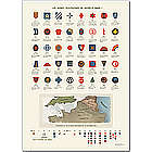 World War I US Army Divisions Insignia Print