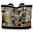 Protect the Wild Quilted Tote Bag