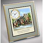 Harvard Painting Desk Clock