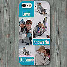 Love Knows No Distance iPhone Case