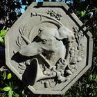 Greyhound Cast Stone Garden Plaque