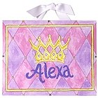 Princess Nursery Name Print