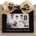 Mud Pie Dog Family Wood Frame