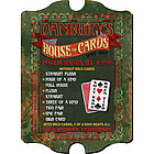 Vintage Personalized House of Cards Sign