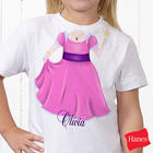 Personalized Balerina Tee Shirt