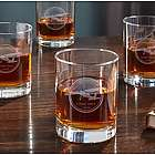 Aviator Personalized Whiskey Glasses
