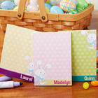 Kid's Personalized Easter Bunny Notepads
