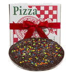 Gourmet Dark Chocolate Pizza