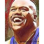 Shaquille O'Neal Pop Art Print