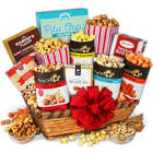 Unique Popcorn and Nut Gift Basket