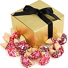 Romantic Gourmet Fortune Cookies - Gift Box of 12