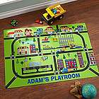 Personalized Busy Builder Playmat