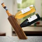 Balanced Double Wine Bottle Holder Stand