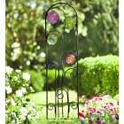 Glass and Metal Curlicues Trellis