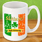 Personalized Irish Pride Coffee Mug