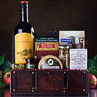 Wine Chest Gift Basket