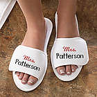 Embroidered Mrs. Terry Spa Slippers