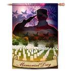 Patriotic Memorial Day Decorative Garden Flag