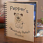 Personalized Cartoon Dog Photo Album