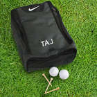 Embroidered Monogram Nike Golf Shoe Bag
