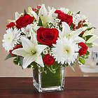 Healing Tears Red & White Large Bouquet