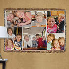 Collage Photo Tapestry Throw Blanket