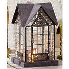 Devonshire Architectural Candle Lantern in Black