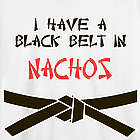 Personalized I Have a Black Belt in Nachos T-Shirt