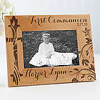 Personalized First Communion Religious Wood Picture Frame