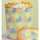 Summer Blossoms 3-1/2 Gallon Popcorn Tin