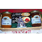 Apple Butter & Pumpkin Butter Gift Basket