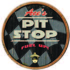 Personalized Pit Stop Bar Sign