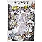 New York Marathon Map